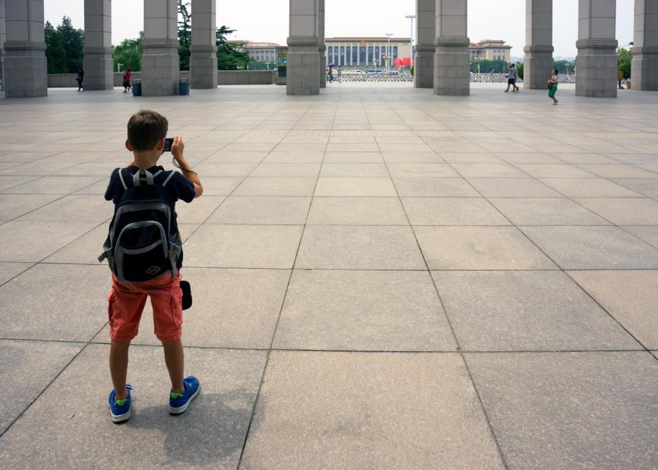 Travel book kid Beijing