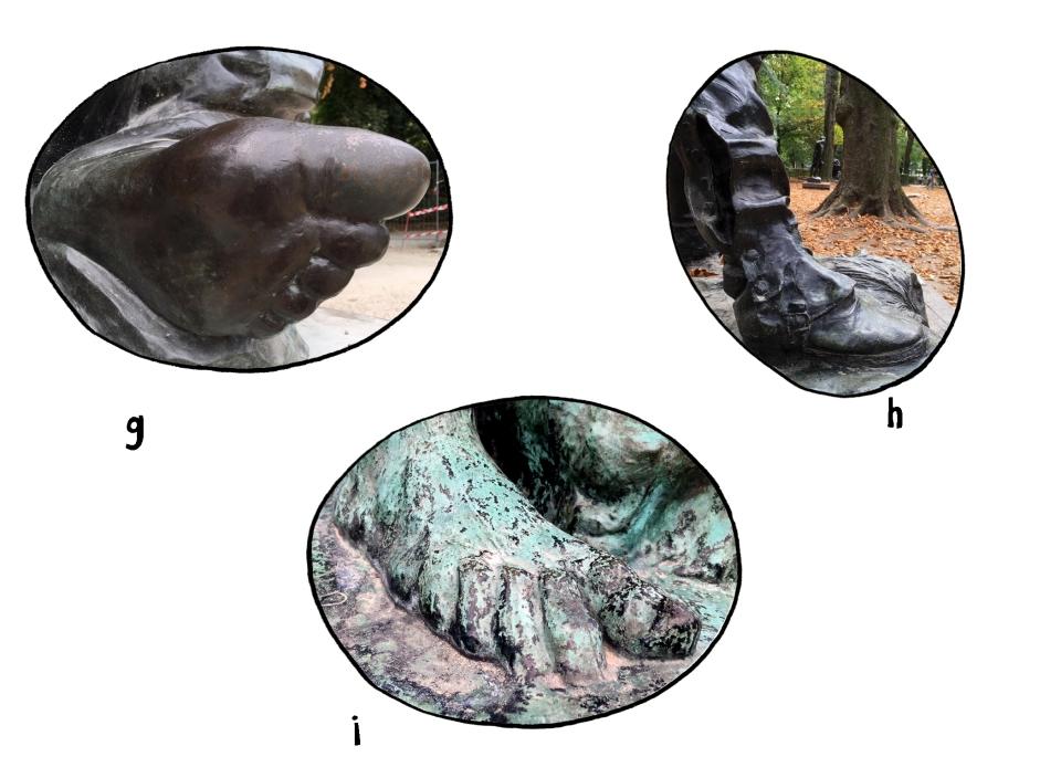 Musee Rodin I Spy feet