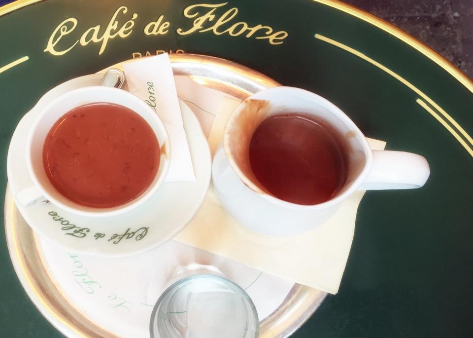 Leap Hop Blog - Paris Cafe de Flore