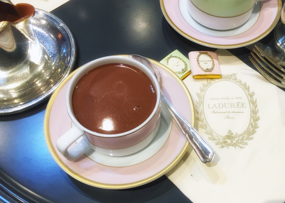 Leap Hop Paris Laduree