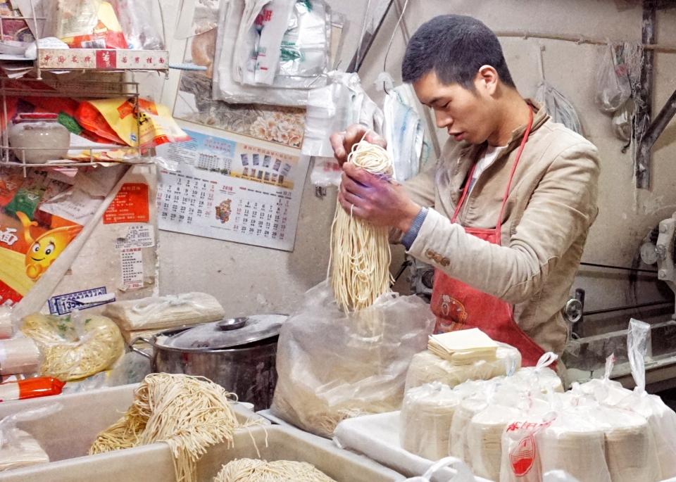 Noodle shop Sichuan Market